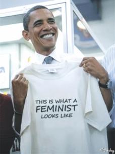 「male feminist obama」の画像検索結果